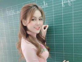 越南出美女,越南女教师Trn Trn因照片走红!